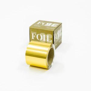 Premium Gold Coloured Foil 100mm x 225m
