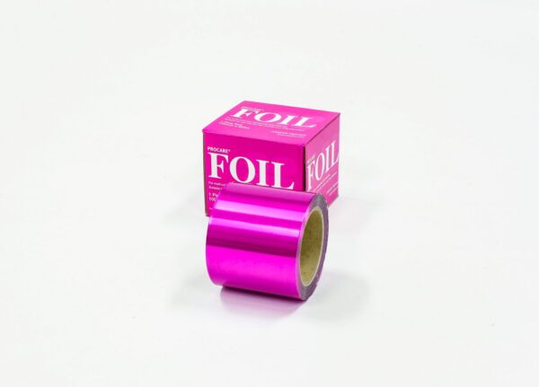 Premium Pink Coloured Foil 100mm x 225m
