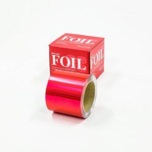 Premium Red Coloured Foil 100mm x 225m
