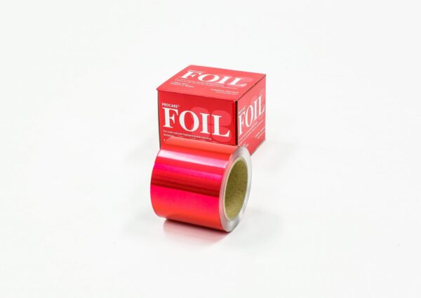 Premium Red Coloured Foil 100mm x 225m