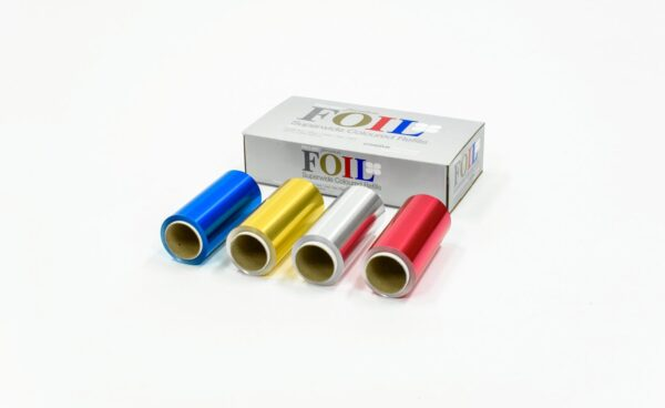 Premium Extra Wide Coloured Refills 120mm x 50m (4 Pack)