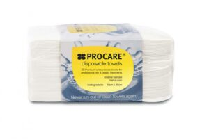White Disposable Towels